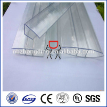 polycarbonate sheet connector h and u profile for installation polycarbonate sheet
